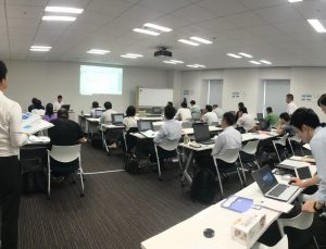 20190910大阪CAD初日講義風景B